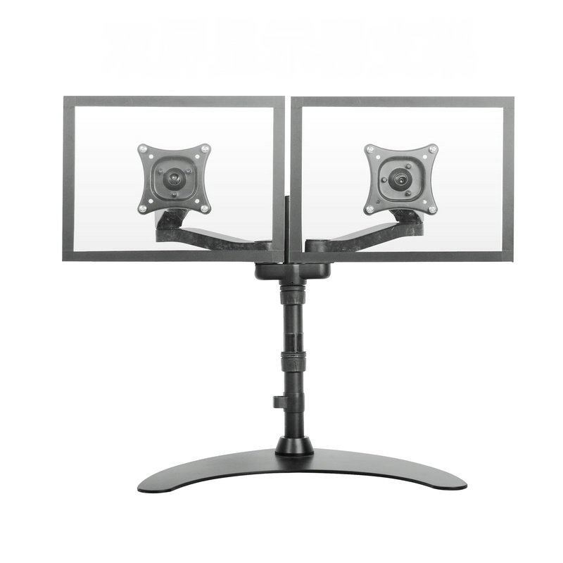 Dual LCD Monitor Free Standing Desk Mount/ Stand Heavy Duty Fully Adjustable fits 2 /Two Screens up to 24 m190etn01 0 lcd display screens