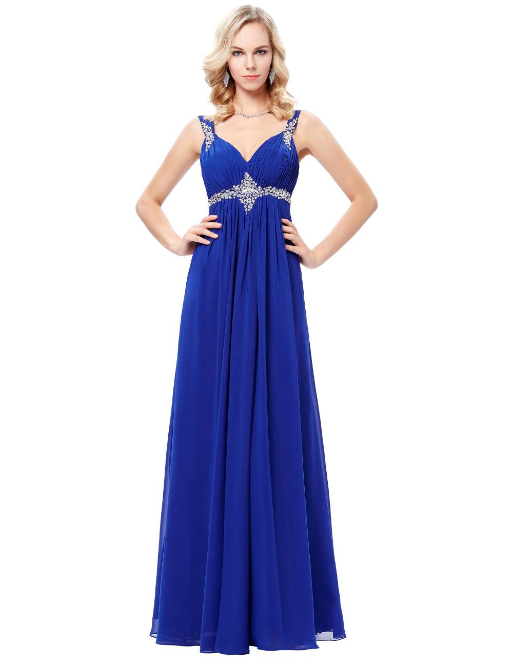 HTB1E33wOFXXXXXVXXXXq6xXFXXXOLong Formal Dress Elegant Floor Length Chiffon Dress