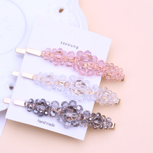 flower hair clips for women acrylic clip hairpin girls accessories barrette scrunchie