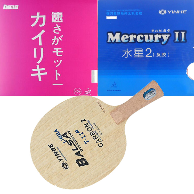 Yinhe T-11+ fast break loop Limba Balsa OFF lIGHT Table Tennis Blade for Racket with rubber Mercury Kokutaku цена