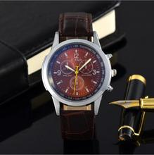 Relogio Masculino Luxury Men Watches Fashion Faux Leather Mens Reloj analógico Relojes de pulsera 2018 Male Sport Reloj hora Reloj