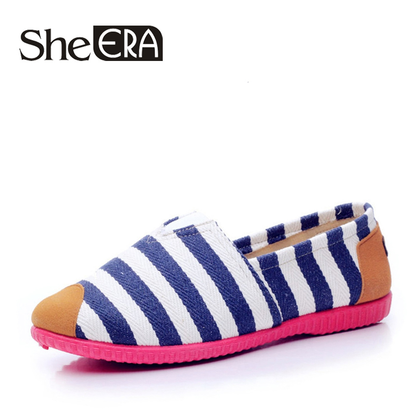 She Era New Fashion Women High Quality Lazy Shoes Women Colorful Flat Shoes Women's Flats Womens Spring Summer Shoes,Hot Sale 2016 spring and summer free shipping red new fashion design shoes african women print rt 3