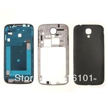 Full Housing Case Back Door Cover For Samsung Galaxy S4 / GT I9500 Black