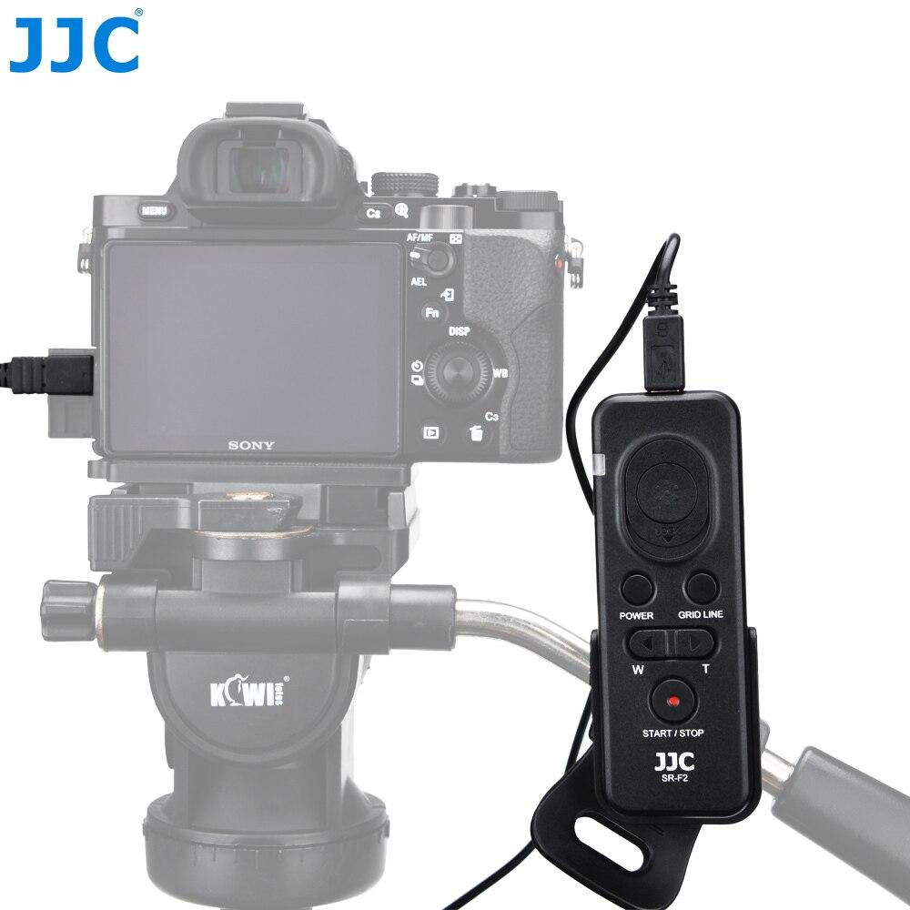 JJC Multi-fonction Télécommande pour Sony Alpha a6500 a6300 a6000 A99II A99 A77 A65 CX510 etc. caméras Remplacer RM-VPR1