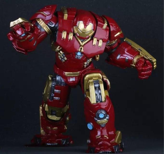 Louco Brinquedos Marvel Avengers Hulkbuster 25 cm Ironman Super Hero Action PVC Figure Collection Modèle Brinquedos