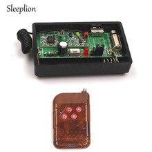 Sleeplion DC 1.5V di Controllo A Distanza Senza Fili di Vibrazione Promemoria Promemoria Vibratore RF Sistema di Allarme