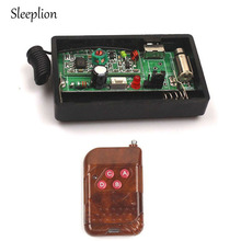 Sleeplion DC 1.5V เตือนการสั่นสะเทือนไร้สายรีโมทคอนโทรลการแจ้งเตือน Vibrator RF ระบบ
