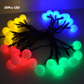 30 Led Led Solar String Lights for Wedding Party Fairy Lights Christmas Garlands Decoration