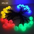 30 Led Solar Led Luces de Cadena para La Fiesta de Boda de Hadas Luces de Navidad Guirnaldas de Decoración