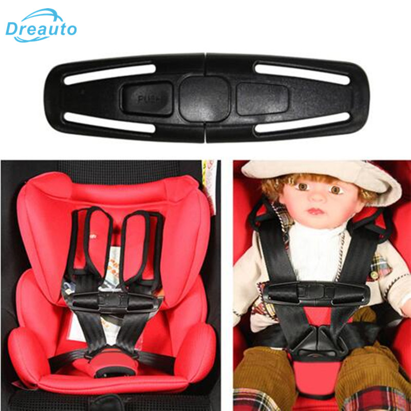 Baby Safety Car Strap Seat Belt Cover Child Toddler Chest Harness Clip Safe Buckle Car Accessories for Ford focus st Smart 453 belt