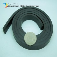 1000mm Plastic Soft magnet for Advertising Teaching frige magnet Width 20x10 mm for Notice Board Toy magnet