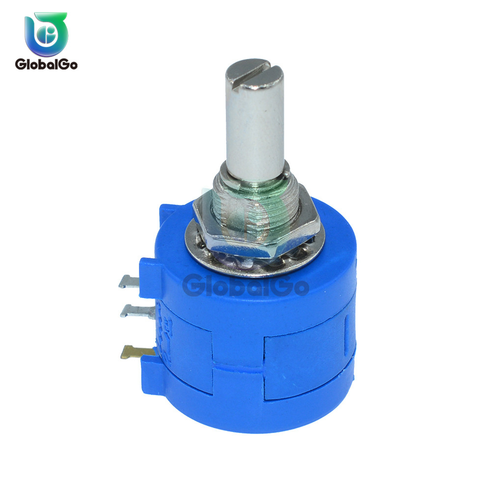 1PCS <font><b>3590S</b></font> Series Potentiometer 10K ohm <font><b>3590S</b></font>-<font><b>2</b></font>-<font><b>103L</b></font> <font><b>3590S</b></font> 103 Precision Multi-turn Wirewound Potentiometer Adjustable Resistor image