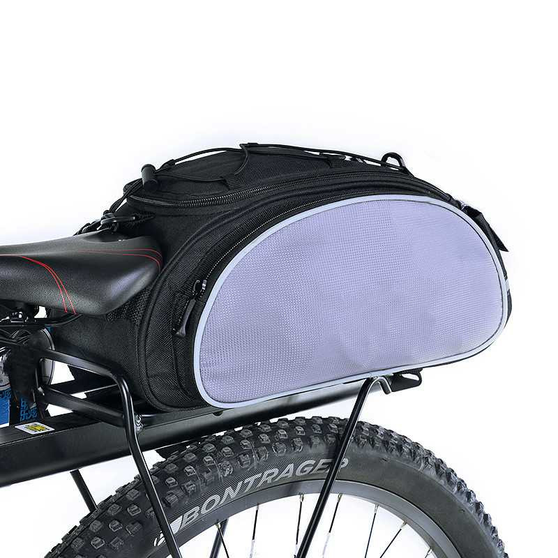 Bag bag 13L Multifunctional Bicycle Rear Seat Bag Outdoor Trunk Bag Handbag Rear Bike Panniers Mountain Bike Accessories