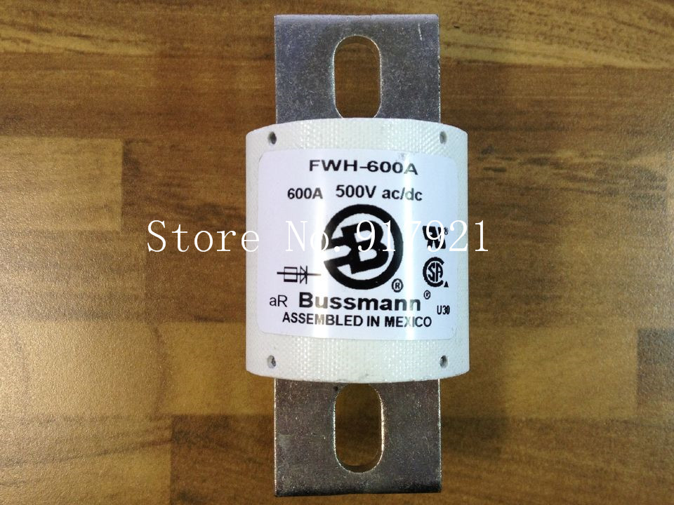 [ZOB] The United States Bussmann FWH-600A BUSS 500VAC/DC fuse fuse original[ZOB] The United States Bussmann FWH-600A BUSS 500VAC/DC fuse fuse original