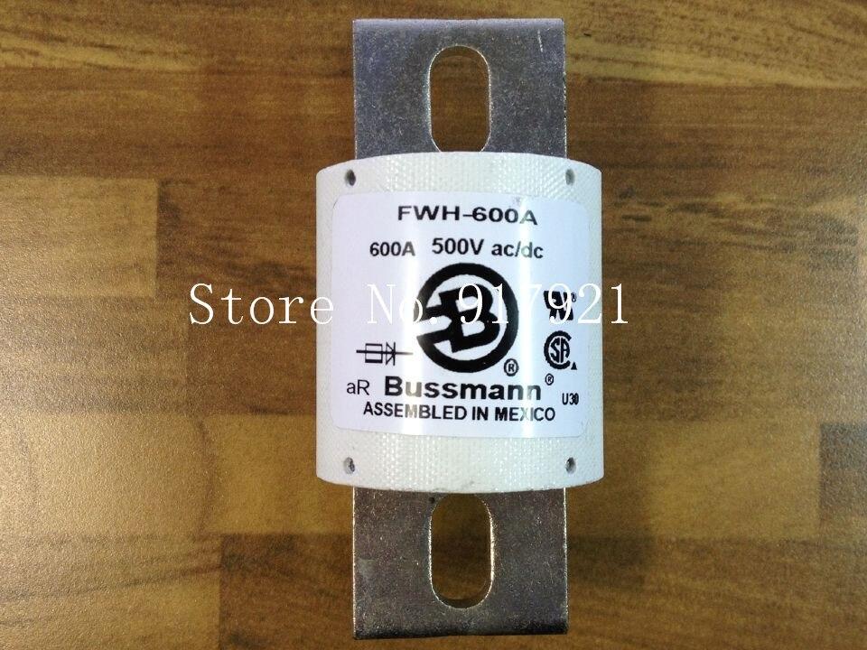 [ZOB] les états-unis Bussmann FWH-600A BUSS 500VAC/DC fusible fusible d'origine