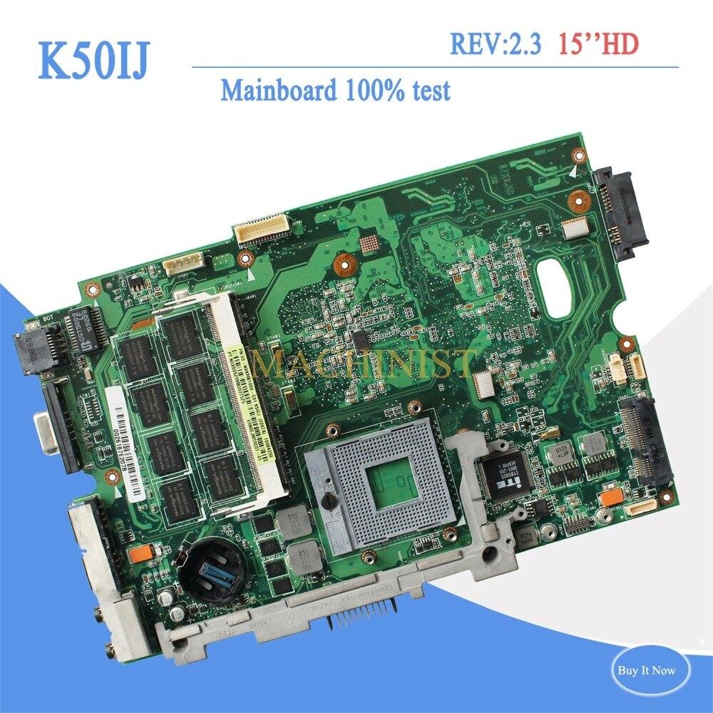 K50IJ REV2 1 mainboard for ASUS X5DIJ K60IJ X8AIJ K40IJ K50IJ laptop Motherboard REV2 1 60
