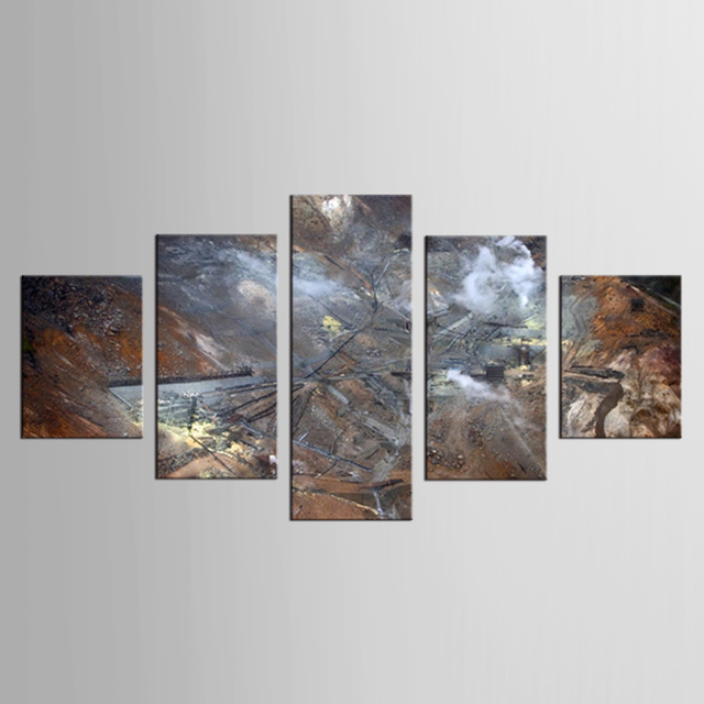 5 pieces framed Wall Art Picture Gift Home Decoration Canvas Print ...