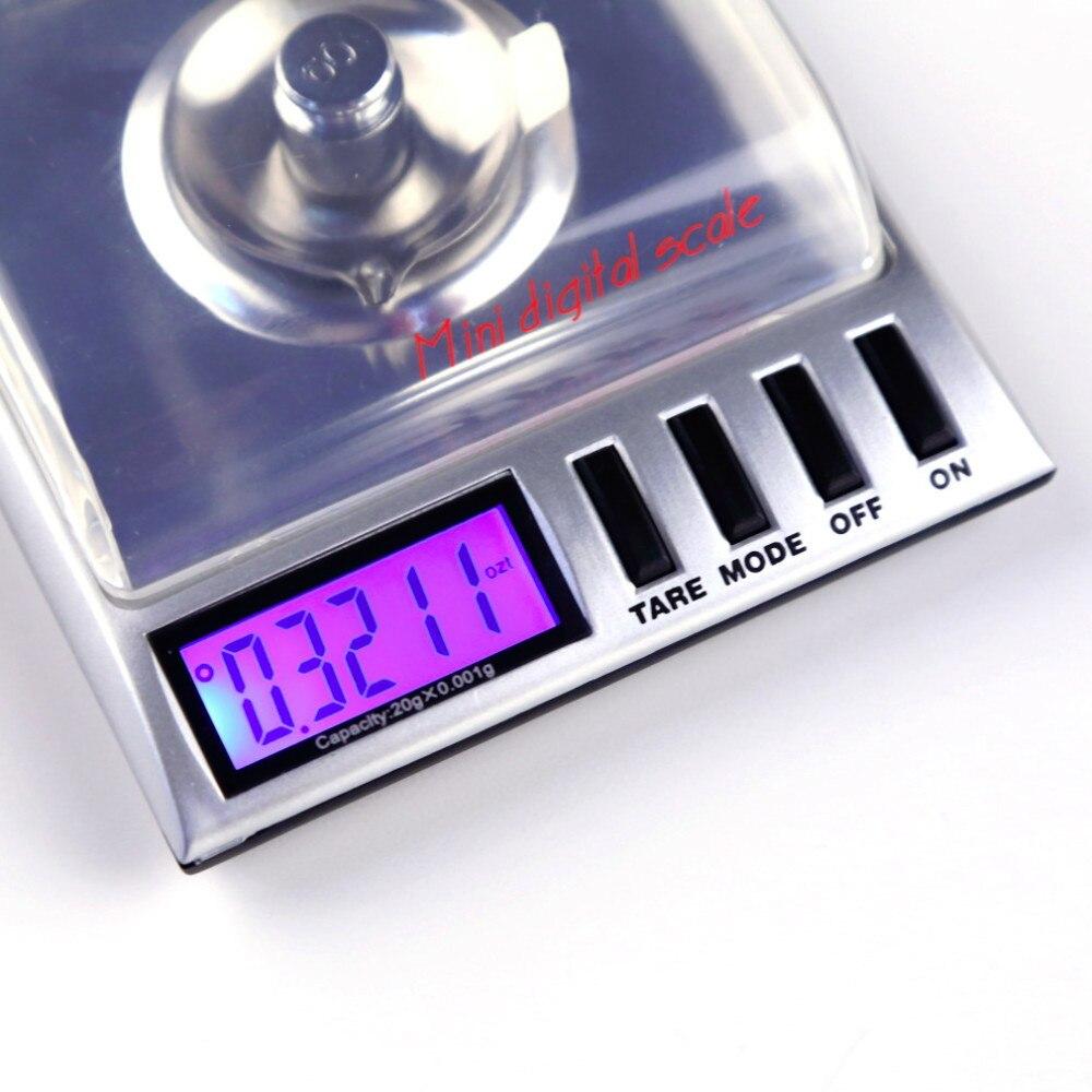Digital 20g x high precision amw gemini bilancia for Balanza cocina 0 1 g