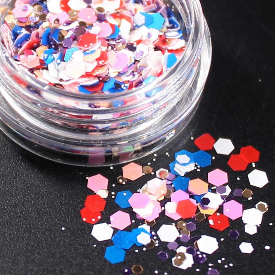 1 caixa violeta neve holográfica lantejoulas brilho shimmer diamante 15 cor olho pele brilhante highlighter rosto glitter festival maquiagem