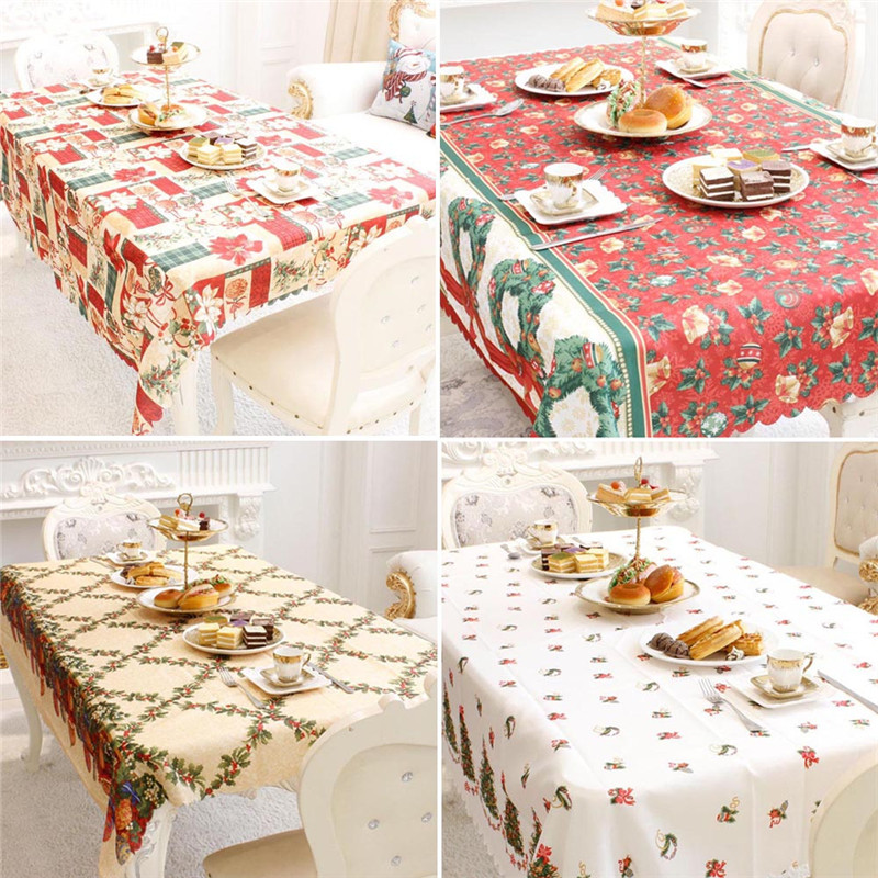 New Year Home Kitchen Dining Table Decorations Christmas  : New Year Home Kitchen Dining Table Decorations Christmas Tablecloth Rectangular Linens Party Table Covers Christmas Ornaments from www.aliexpress.com size 800 x 800 jpeg 259kB