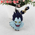 2015 Time-limited Real Plated Men Key Key Chain Llavero The King Of Death Note Anime Ryuuku Keychain Pvc Can Be Customized