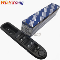 Front Left Side Power Electric Window Lifter Switch Panel For Peugeot 407 SW 6554 ER 96468704XT