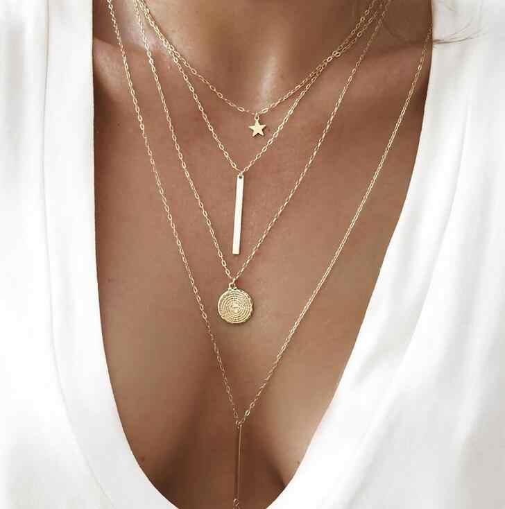 Новая мода роза цветок кулон ожерелье Модные женские простые Chorker ожерелье Brinco подарок на день рождения Оптовая продажа ювелирные изделия