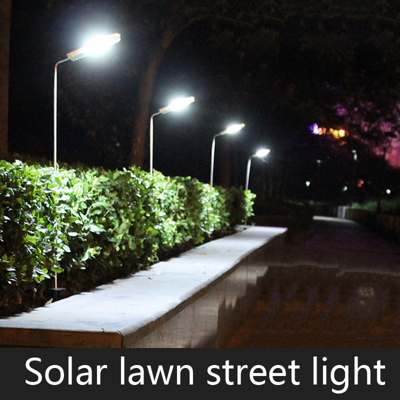 luminarias led solar panel lights lawn spotlight wall lamp new year christmas garland light garden outdoor floodlight decoration Waterproof LED Solar Panel Lawn Street Lights Garden Outdoor Lamps Super Bright New Year Christmas Garland Luminaria Decor