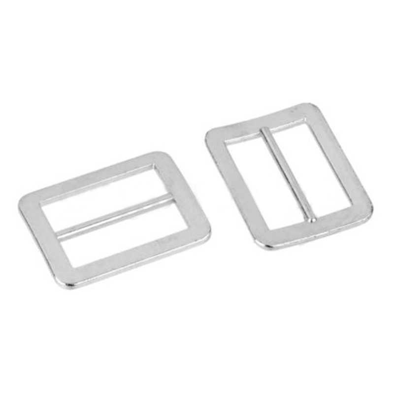 10 шт. Регулируемая цинкового сплава Tri-glide пряжки 25 мм пряжка для ремня серебро для рюкзака ремни