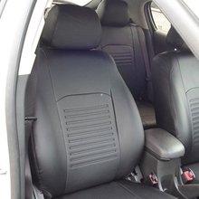 Для Mitsubishi Outlander XL 2007-2012 специальные чехлы на сиденья полный комплект модель Турин эко-кожа