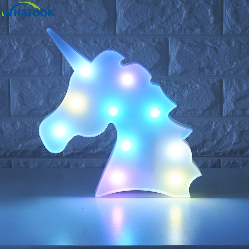 Unicorn night lamp 1
