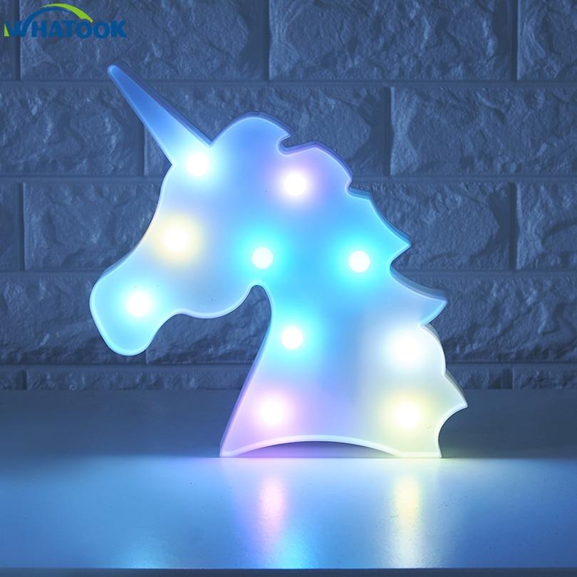 Lampada da notte ad unicorno 1