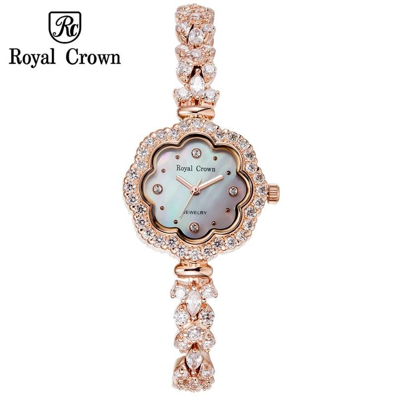 Shell Luxury Rhinestones Sunflower Women s Watch Royal Crown Hours Fine Fashion Dress Bracelet Girl Birthday