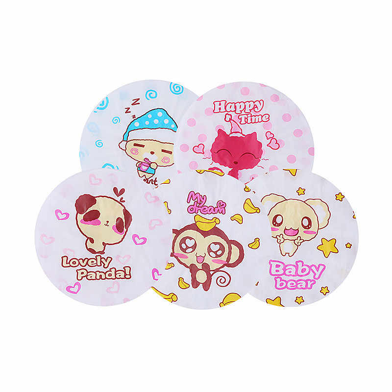 Shower Caps Lovely cartoon waterproof bathing cap, shower cap, bath head set, female adult kitchen cooking, anti fume cooking