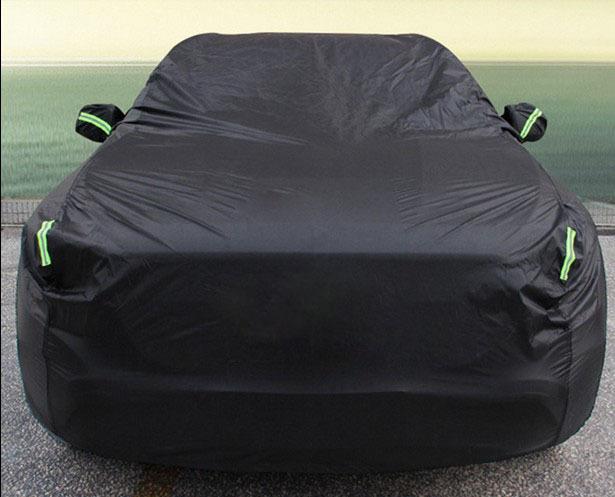 De interior Al Aire Libre Completo Car Cubierta de Protección Resistente Sun UV Nieve Polvo Por Encargo Logo Coche Cubre El Envío gratuito