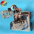DOIT Original C600 Completo 4WD Chassis de Liga De Alumínio Do Carro de Metal Barrowload Inteligente Chassis Plataforma Do Robô Móvel PARA Arduino