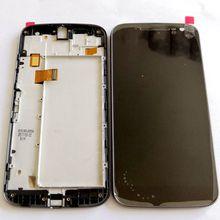 For Motorola Moto G4 Xt1622 xt1625 Xt1626 Lcd Screen Touch Glass Frame Full For motog4 Display Pantalla black/white