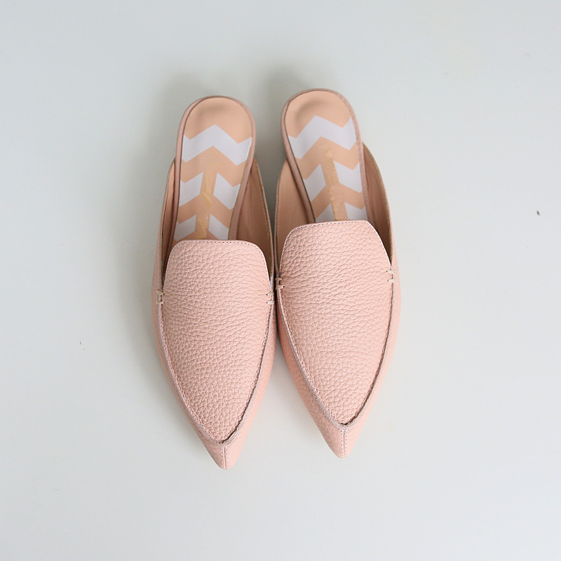 2017 New fashion women summer flats Pointed Toe pink Ladies slip on sandals Ballet Flats Retro shoes leather high quality new spring autumn women shoes pointed toe high quality brand fashion ol dress womens flats ladies shoes black blue pink gray