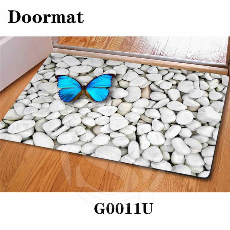 送料無料美しい石禅石カスタム玄関家の装飾の寝室のカーペットクラシック耐久性フロアマットSQ0630-Y7634