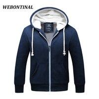 Lambs Wool Winter New 2016 Hombre Brand Clothing Thick Sweatshirt Men Hoodies High Quality Velvet Hoody