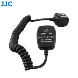 JJC 1.3 m TTL Off lampa błyskowa sznury synchronizacji światła zdalnego skupić się kabel do produktu firmy OLYMPUS/Panasonic kamery miga
