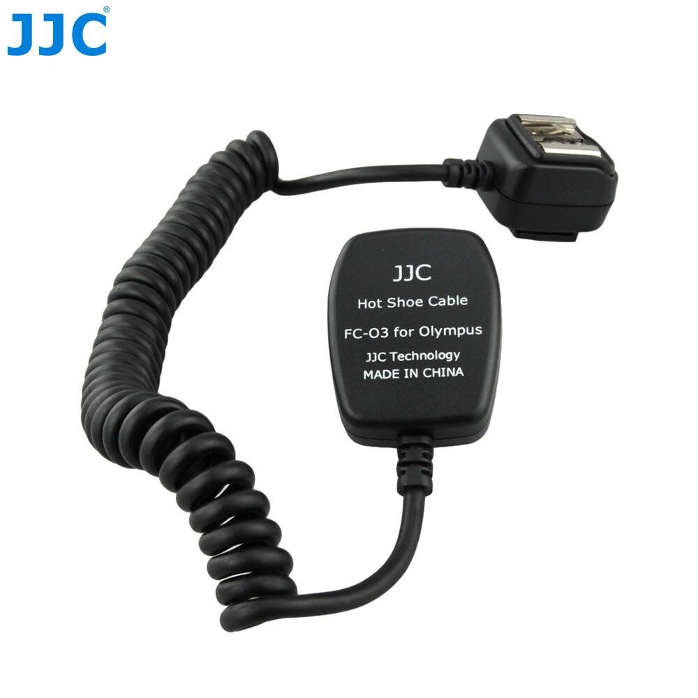 JJC 1.3 m TTL hors cordon de Flash de l'appareil photo synchroniser le câble de mise au point de la lumière à distance pour les appareils photo OLYMPUS/Panasonic clignote