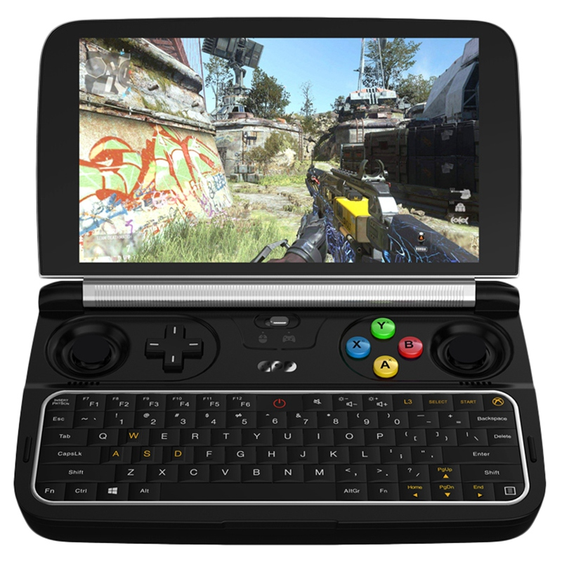Gpd Win 2 Handheld Mini Gaming Laptop 8Gb Ram 256Gb Rom 6 Inch Support For Intel Core Windows 10 System Pocket Mini Pc Laptop image