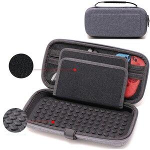 Image 1 - Caso portatile per Nintend Switch di Console EVA Carry Gioco di Stoccaggio Borsa Da Viaggio Duro Borsette Del Sacchetto per Nitendo Interruttore NS Accessori