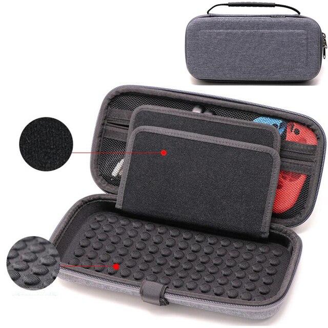 Caso portatile per Nintend Switch di Console EVA Carry Gioco di Stoccaggio Borsa Da Viaggio Duro Borsette Del Sacchetto per Nitendo Interruttore NS Accessori