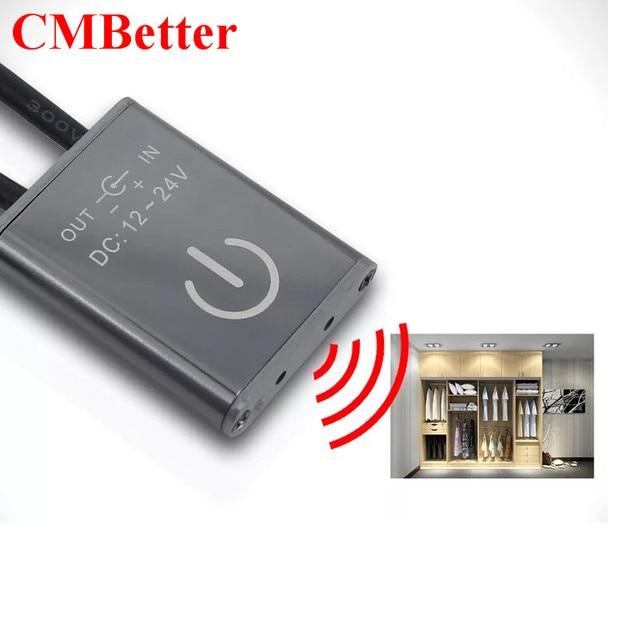 New Arrival Ir Motion Sensor Light Switch Wardrobe Cabinet Lamp Cupboard Home For Led Lighting Dc12 24v