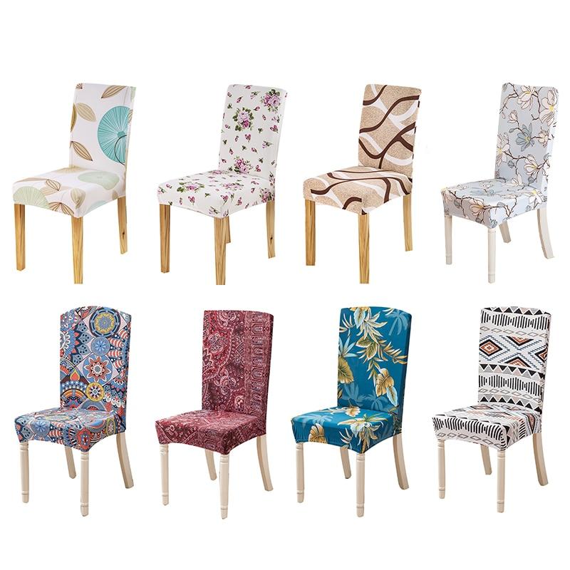 Forcheer silla comedor cubierta Floral Universal Spandex tramo funda ...