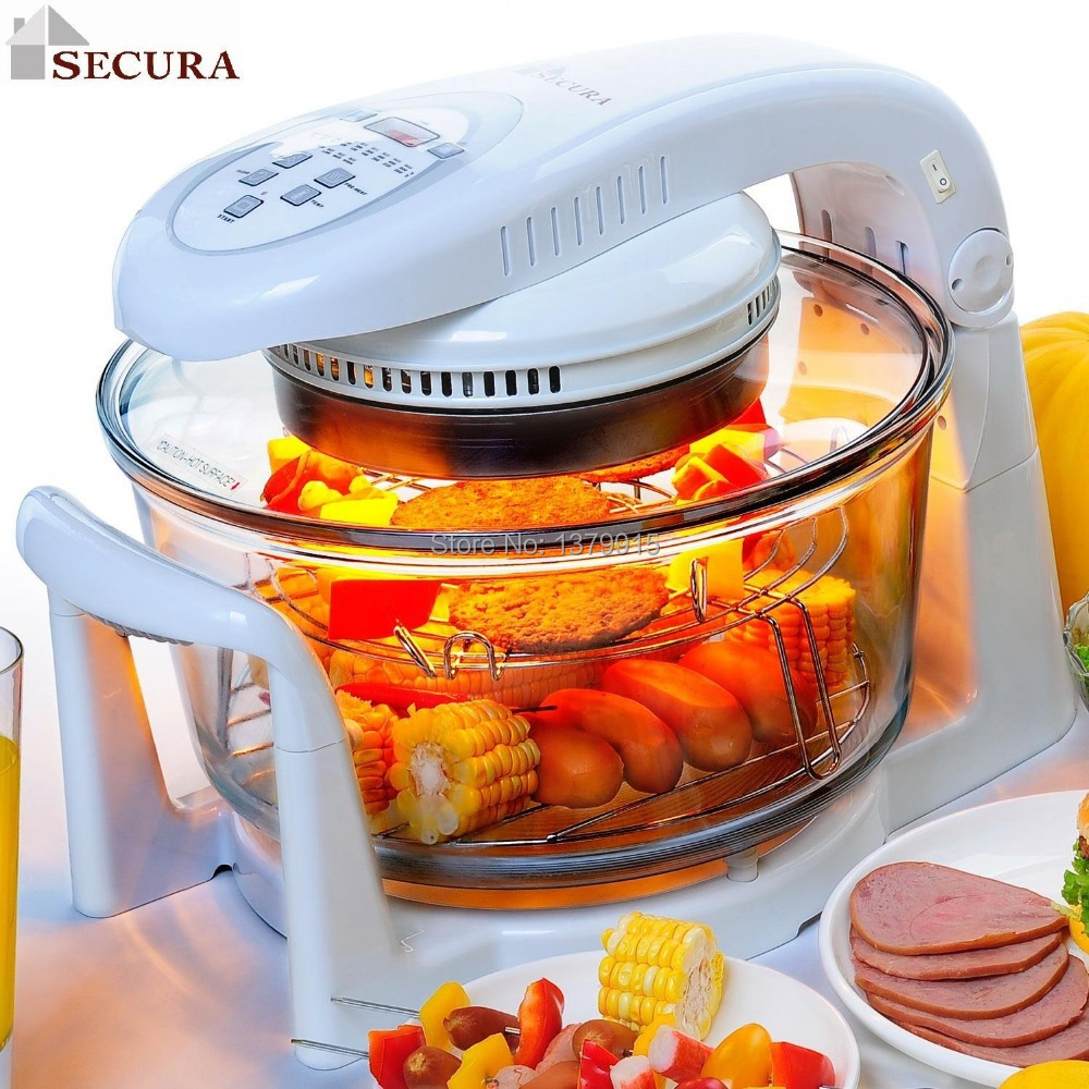 Free Shipping Digital Halogen Infrared Turbo Convection Countertop