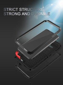 Cas De Téléphone De Preuve De L'eau   Pour Samsung Galaxy S9/S9 Plus Coque D'amour MEI Résistant Aux Chocs Et à La Saleté Coque De Téléphone En Métal Résistant à L'eau Pour Galaxy