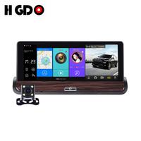 HGDO 7 1080P Car Truck DVR GPS Navigation Android Dual Camera Recording ADAS WiFi Auto Video